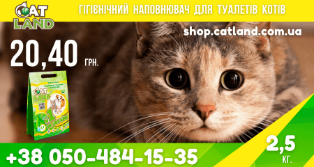 Choose a litter with Cat Land